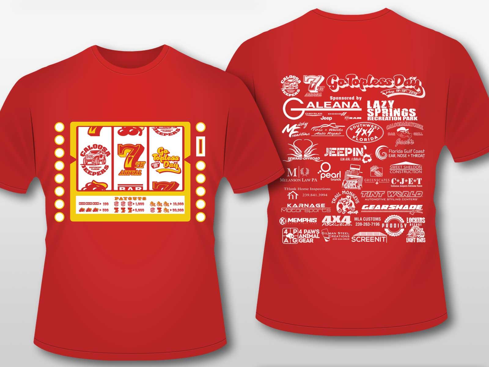 Tshirt-Short-Sleeve-GTD2018-Red